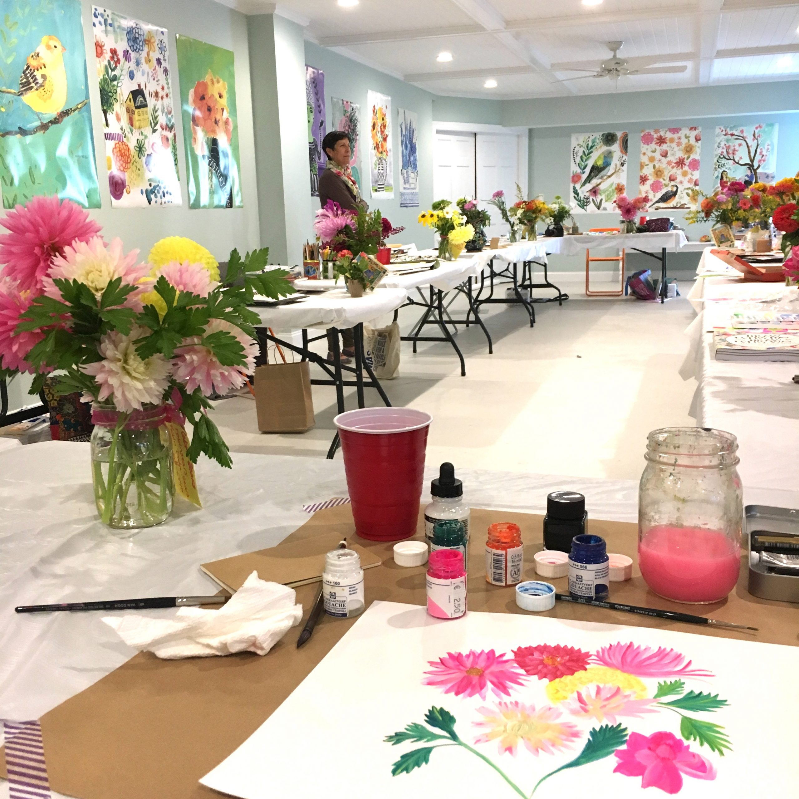 Painting retreat with Jennifer Orkin Lewis