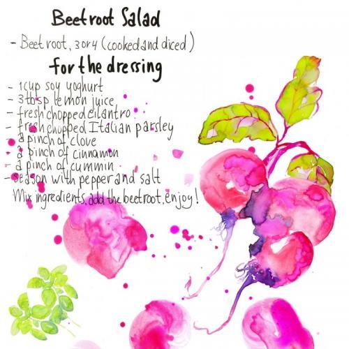 Beet root recipe
