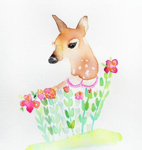 flower-fawn